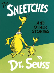 Book cover for The Sneetches and Other Stories by Dr. Seuss